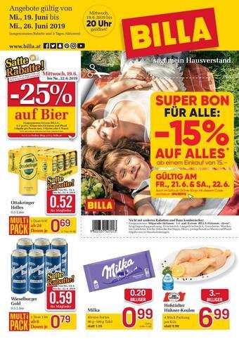 Billa Werbeflugblatt (bis einschl. 26-06)