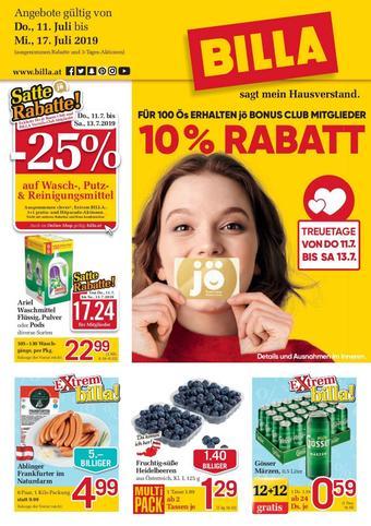 Billa Werbeflugblatt (bis einschl. 17-07)
