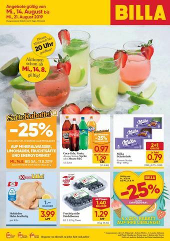 Billa Werbeflugblatt (bis einschl. 21-08)