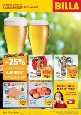 Billa Werbeflugblatt (bis einschl. 28-08)
