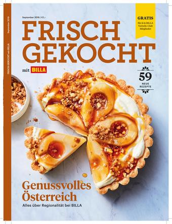 Billa Werbeflugblatt (bis einschl. 30-09)