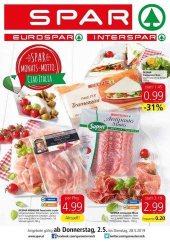 Spar Werbeflugblatt (bis einschl. 28-05)