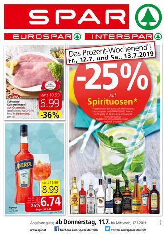 Spar Werbeflugblatt (bis einschl. 17-07)