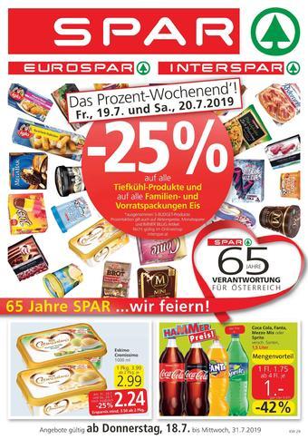Spar Werbeflugblatt (bis einschl. 31-07)