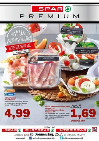 Spar Werbeflugblatt (bis einschl. 04-09)