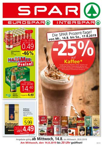 Spar Werbeflugblatt (bis einschl. 27-08)
