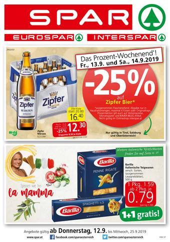 Spar Werbeflugblatt (bis einschl. 25-09)