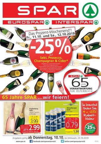 Spar Werbeflugblatt (bis einschl. 23-10)