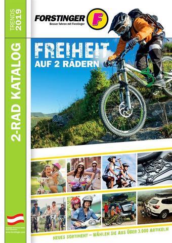 Forstinger Werbeflugblatt (bis einschl. 31-12)