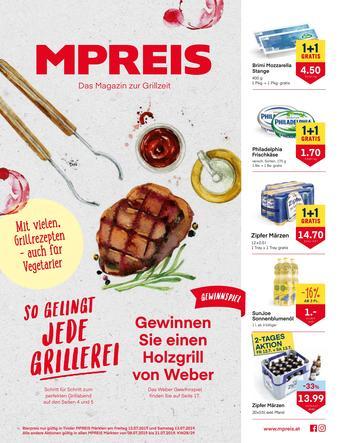MPreis Werbeflugblatt (bis einschl. 21-07)
