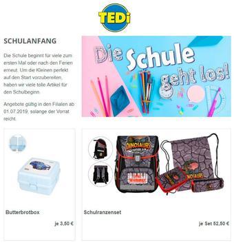 TEDi Werbeflugblatt (bis einschl. 31-07)