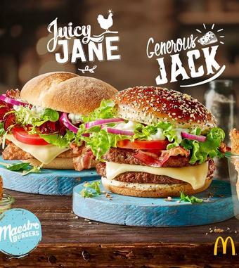 McDonald's Werbeflugblatt (bis einschl. 31-05)