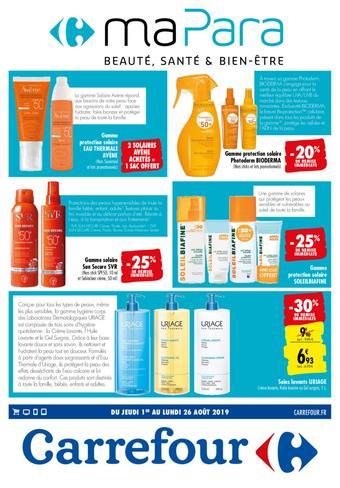 Carrefour catalogue publicitaire (valable jusqu'au 26-08)