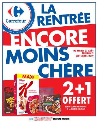 Carrefour catalogue publicitaire (valable jusqu'au 09-09)