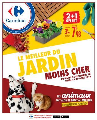 Carrefour catalogue publicitaire (valable jusqu'au 14-10)