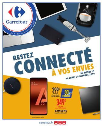 Carrefour catalogue publicitaire (valable jusqu'au 28-10)