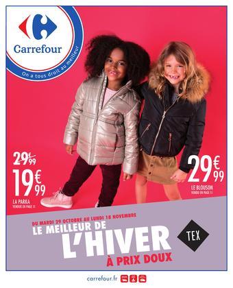Carrefour catalogue publicitaire (valable jusqu'au 18-11)