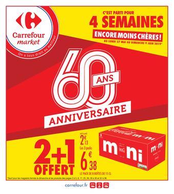 Carrefour Market catalogue publicitaire (valable jusqu'au 09-06)