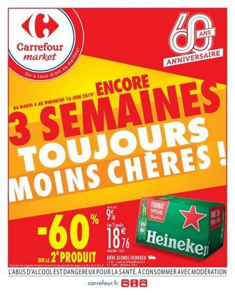 Carrefour Market catalogue publicitaire (valable jusqu'au 16-06)