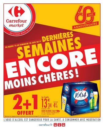 Carrefour Market catalogue publicitaire (valable jusqu'au 30-06)