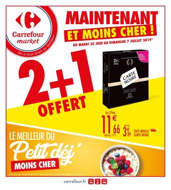 Carrefour Market catalogue publicitaire (valable jusqu'au 07-07)