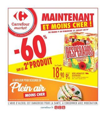 Carrefour Market catalogue publicitaire (valable jusqu'au 21-07)