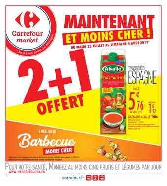 Carrefour Market catalogue publicitaire (valable jusqu'au 04-08)