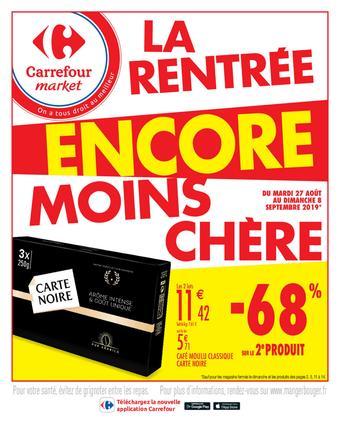 Carrefour Market catalogue publicitaire (valable jusqu'au 08-09)