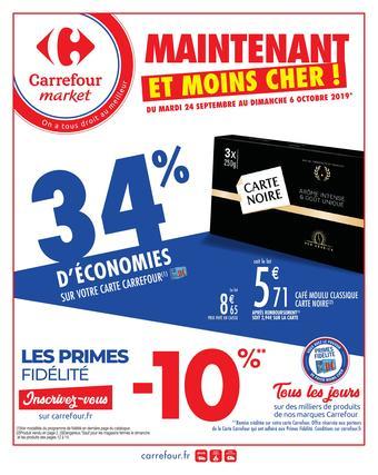 Carrefour Market catalogue publicitaire (valable jusqu'au 06-10)