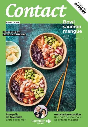 Carrefour Contact catalogue publicitaire (valable jusqu'au 31-05)
