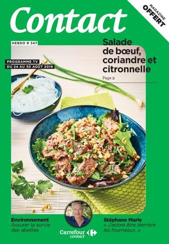 Carrefour Contact catalogue publicitaire (valable jusqu'au 30-08)