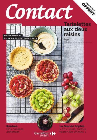 Carrefour Contact catalogue publicitaire (valable jusqu'au 27-09)