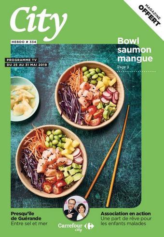 Carrefour City catalogue publicitaire (valable jusqu'au 31-05)