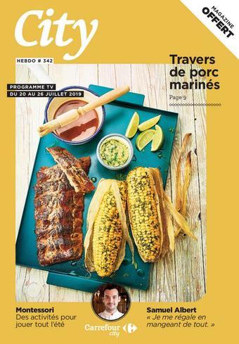 Carrefour City catalogue publicitaire (valable jusqu'au 26-07)
