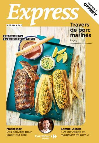 Carrefour Express catalogue publicitaire (valable jusqu'au 26-07)
