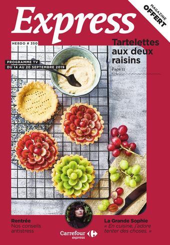 Carrefour Express catalogue publicitaire (valable jusqu'au 20-09)