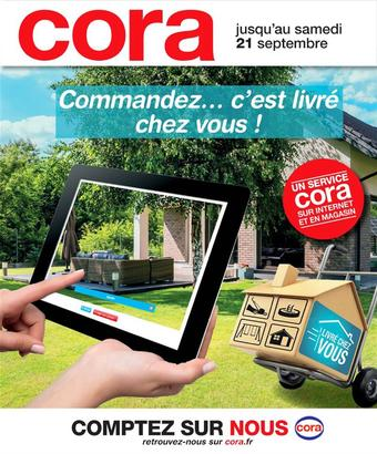 Cora catalogue publicitaire (valable jusqu'au 21-09)
