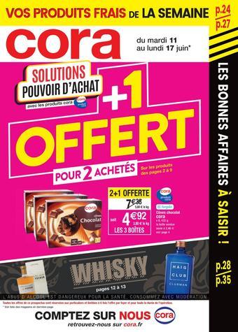 Cora catalogue publicitaire (valable jusqu'au 17-06)