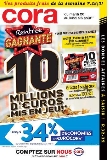 Cora catalogue publicitaire (valable jusqu'au 26-08)