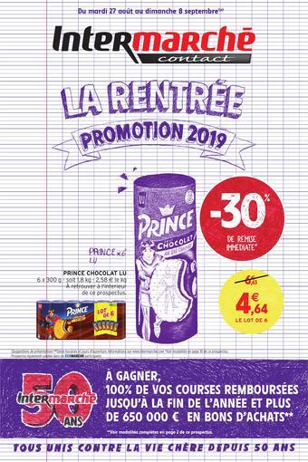 Intermarché catalogue publicitaire (valable jusqu'au 08-09)