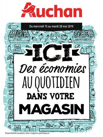 Auchan catalogue publicitaire (valable jusqu'au 28-05)