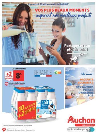 Auchan catalogue publicitaire (valable jusqu'au 02-07)