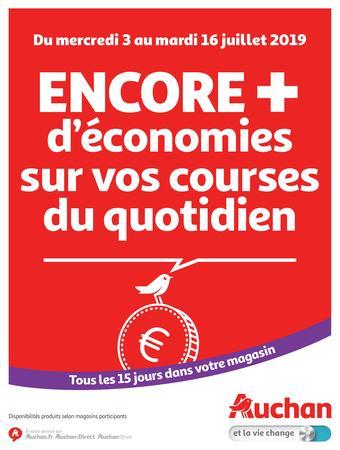 Auchan catalogue publicitaire (valable jusqu'au 16-07)