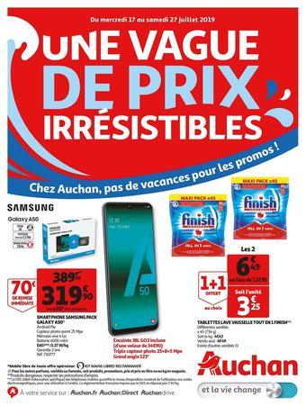 Auchan catalogue publicitaire (valable jusqu'au 27-07)