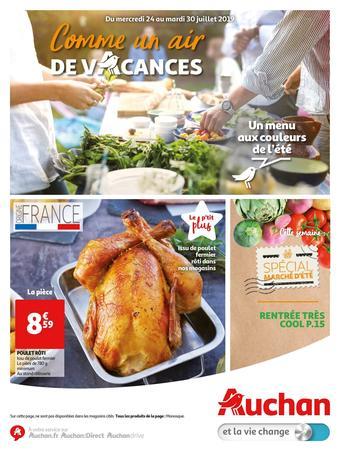 Auchan catalogue publicitaire (valable jusqu'au 30-07)