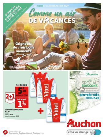 Auchan catalogue publicitaire (valable jusqu'au 20-08)