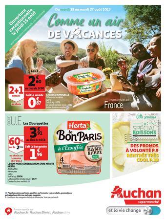 Auchan catalogue publicitaire (valable jusqu'au 27-08)