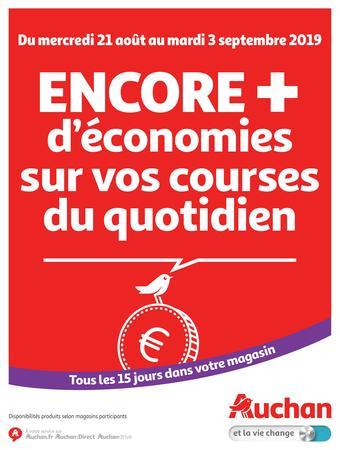 Auchan catalogue publicitaire (valable jusqu'au 03-09)