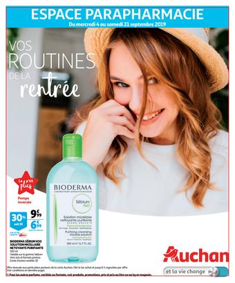 Auchan catalogue publicitaire (valable jusqu'au 21-09)