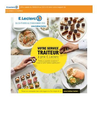 E.Leclerc catalogue publicitaire (valable jusqu'au 23-11)
